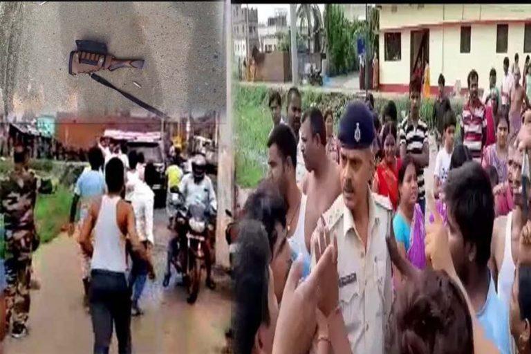 डीवाई पाटिल स्कूल के गार्ड ने की फायरिंग, उग्र लोगों ने गार्ड व दारोगा को बंधक बना पीटा