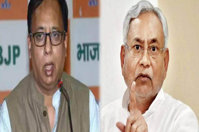 BJP chief Sanjay Jaiswal & CM Nitish Kumar